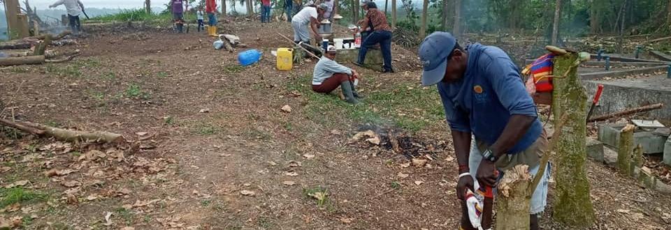 PROYECTO DEL AGUA POTABLE EN LA PARROQUIA